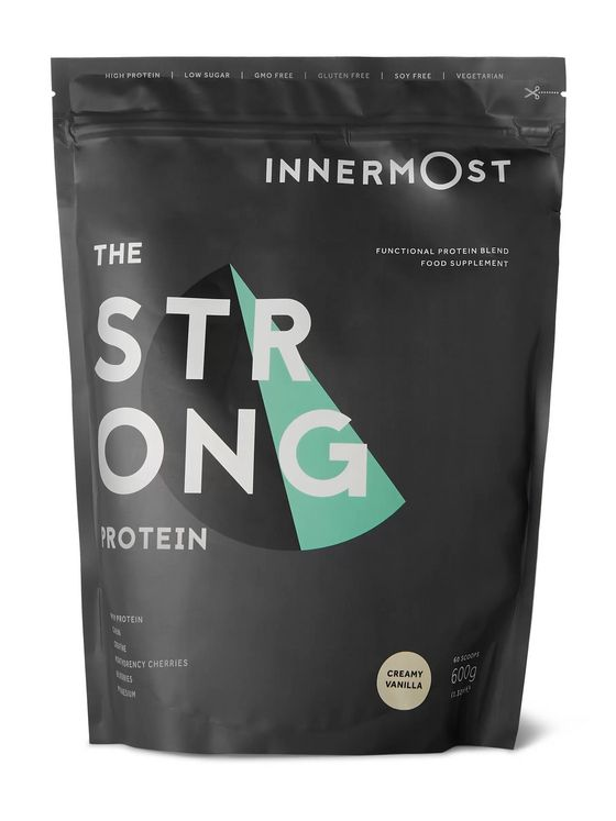 Innermost The Strong Protein Powder - Creamy Vanilla, 600g