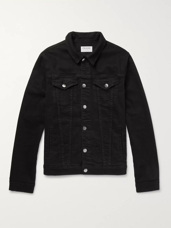 FRAME L'Homme Stretch-Denim Jacket