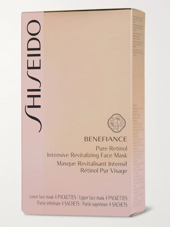 Shiseido Pure Retinol Intensive Revitalising Face Mask x 4
