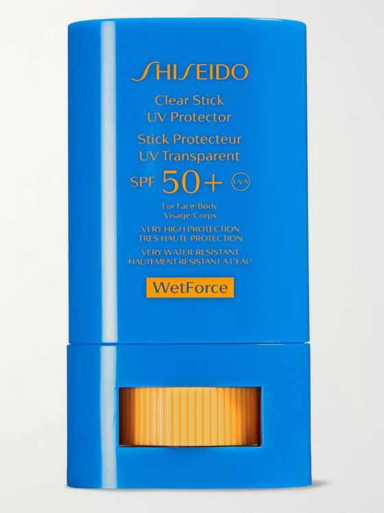Shiseido Clear Stick UV Protector WetForce Sunscreen SPF 50+, 15g