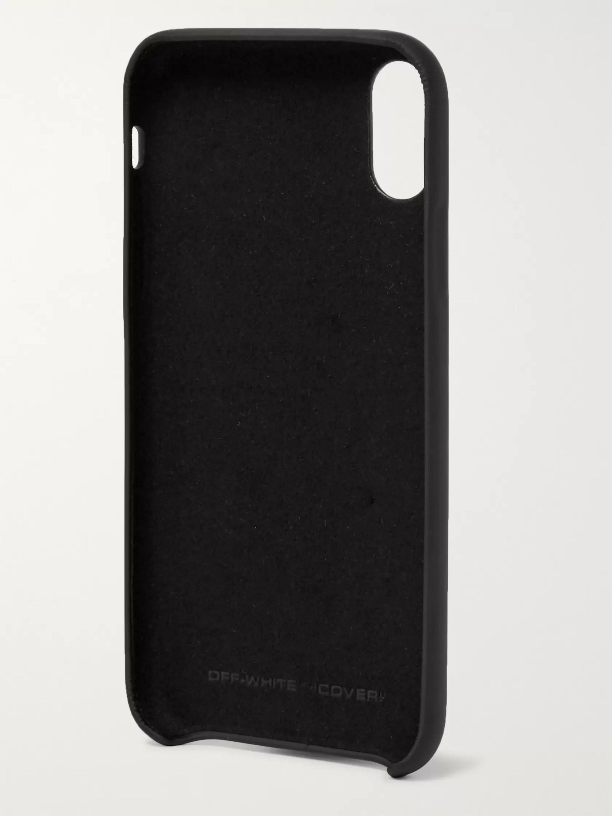 Off-White Logo-Print iPhone XR Case