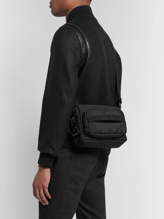 Alexander McQueen Canvas Messenger Bag