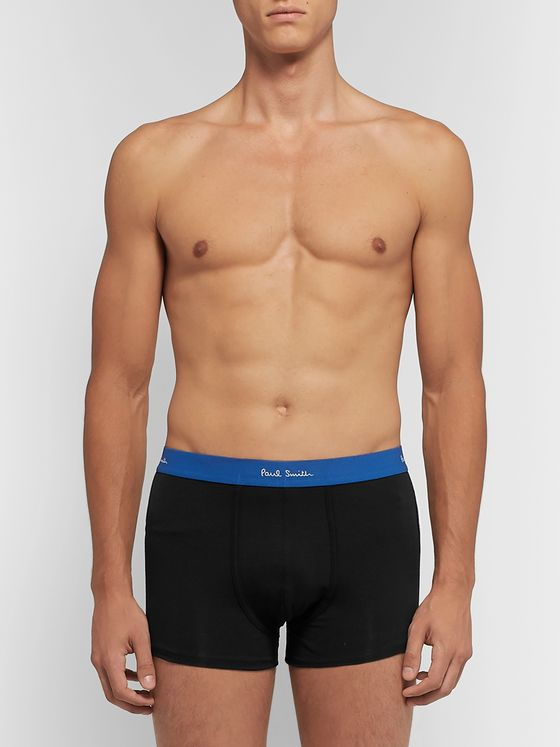Paul Smith Three-Pack Stretch-Cotton Jersey Boxer Briefs
