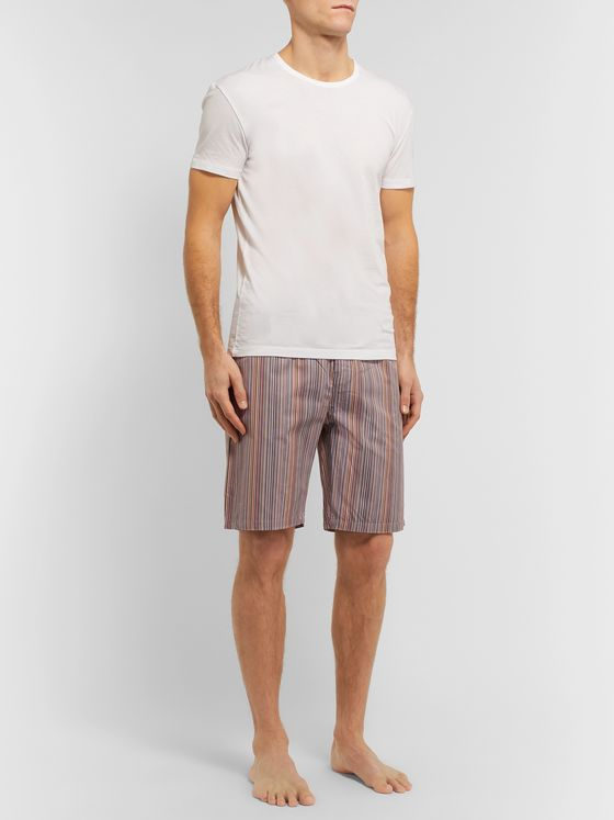 Paul Smith Striped Cotton Pyjama Set