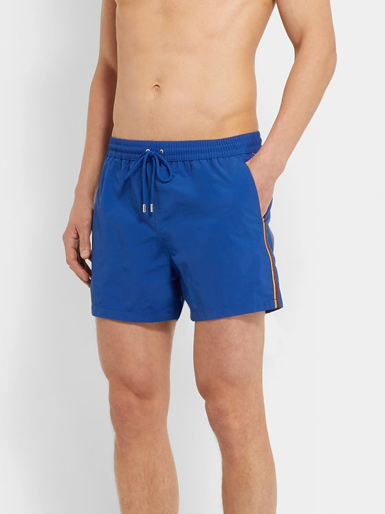 Paul Smith Slim-Fit Short-Length Swim Shorts