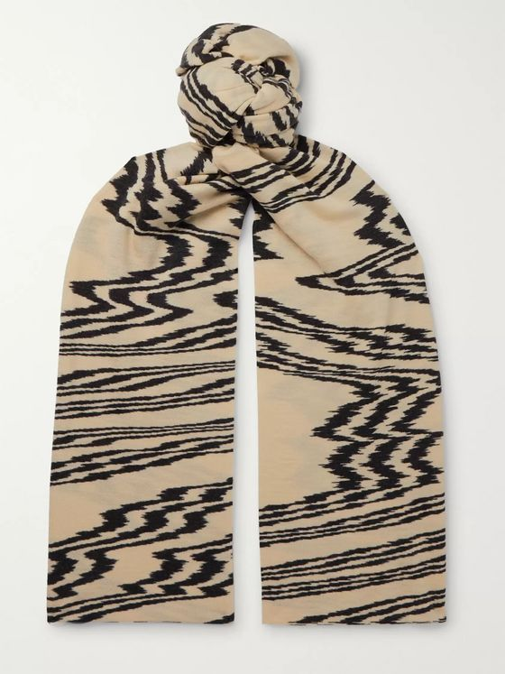 Missoni Printed Wool Scarf