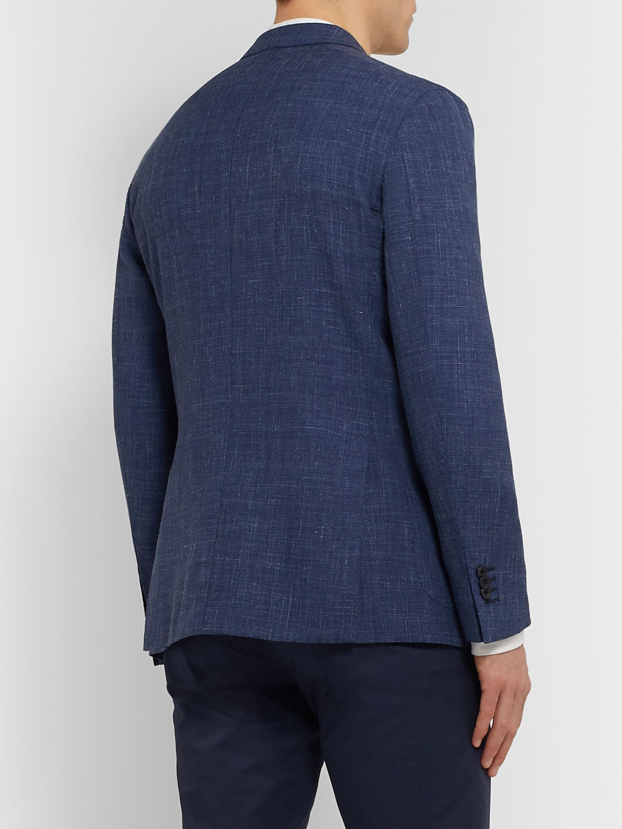 Boglioli Slim-Fit Unstructured Virgin Wool-Blend Suit Jacket