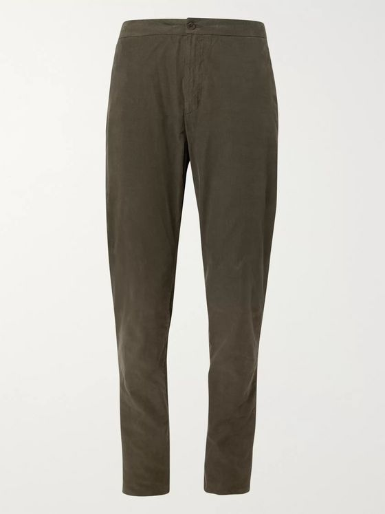 Boglioli Slim-Fit Cotton-Corduroy Suit Trousers