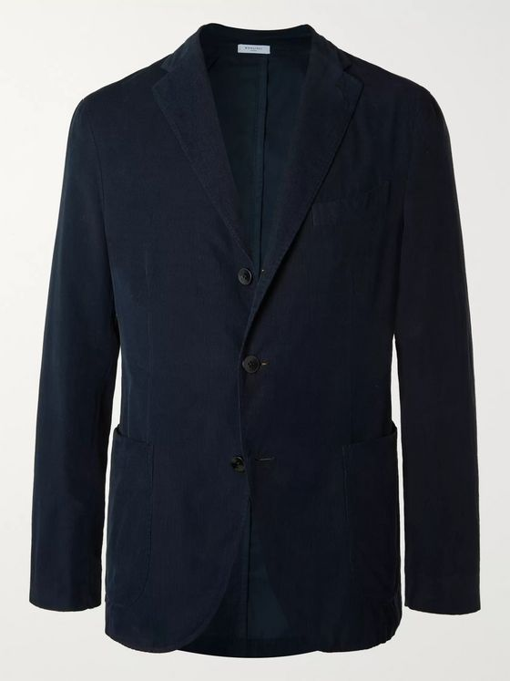 Boglioli K-Jacket Slim-Fit Unstructured Cotton-Corduroy Suit Jacket