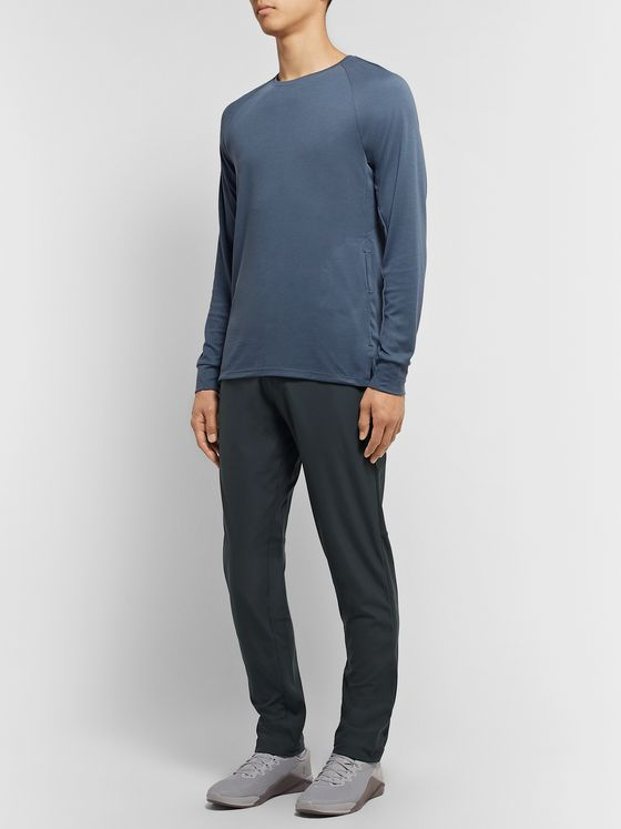 Lululemon Commission Slim-Fit Tapered Warpstreme Trousers