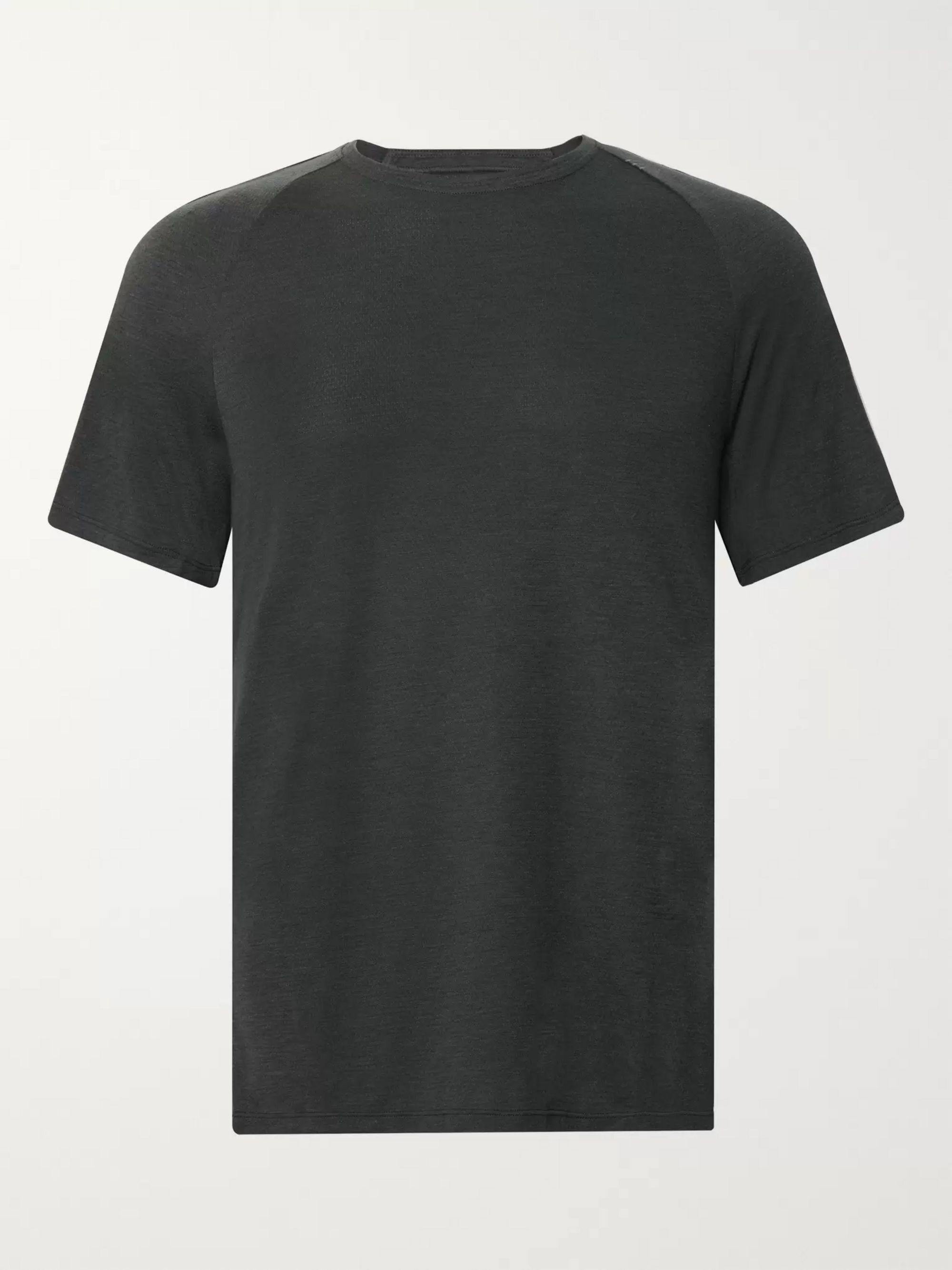 Conflux Mélange Stretch Jersey T Shirt by Lululemon