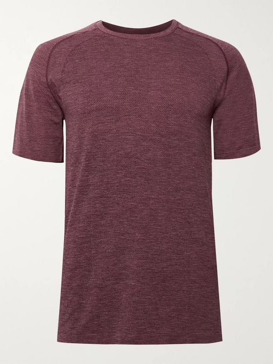 Lululemon Metal Vent Tech Mélange Stretch-Jersey T-Shirt