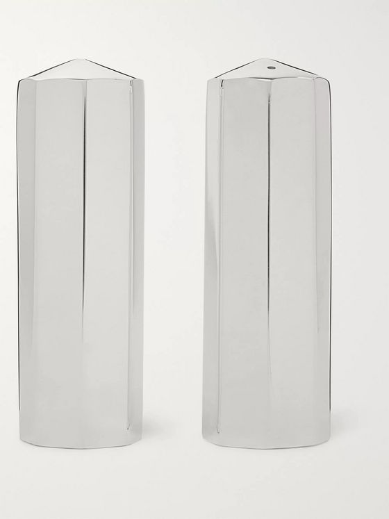 The Wolseley Collection Silver-Plated Cruet Set