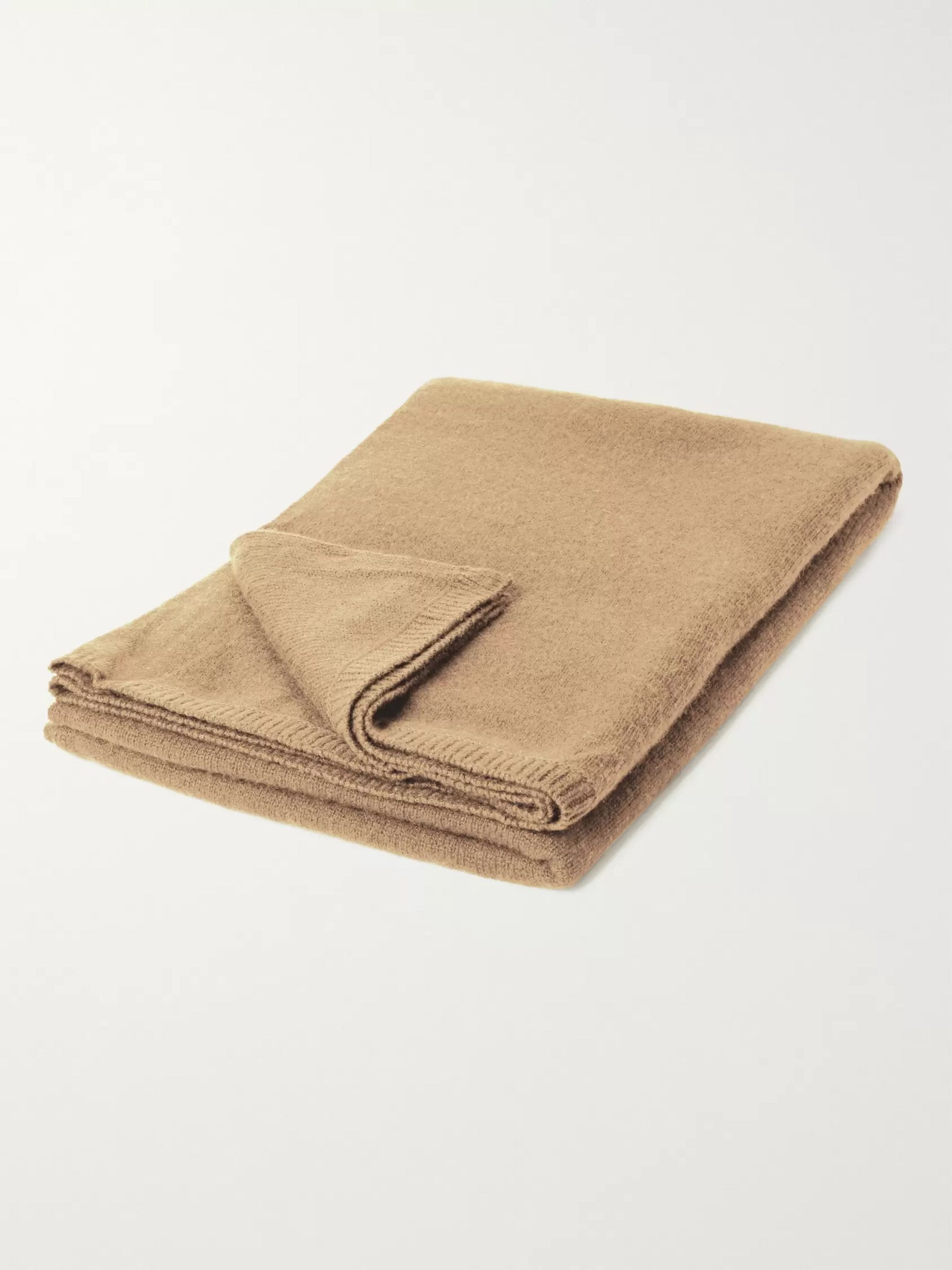 Armand Diradourian Cashmere Travel Blanket