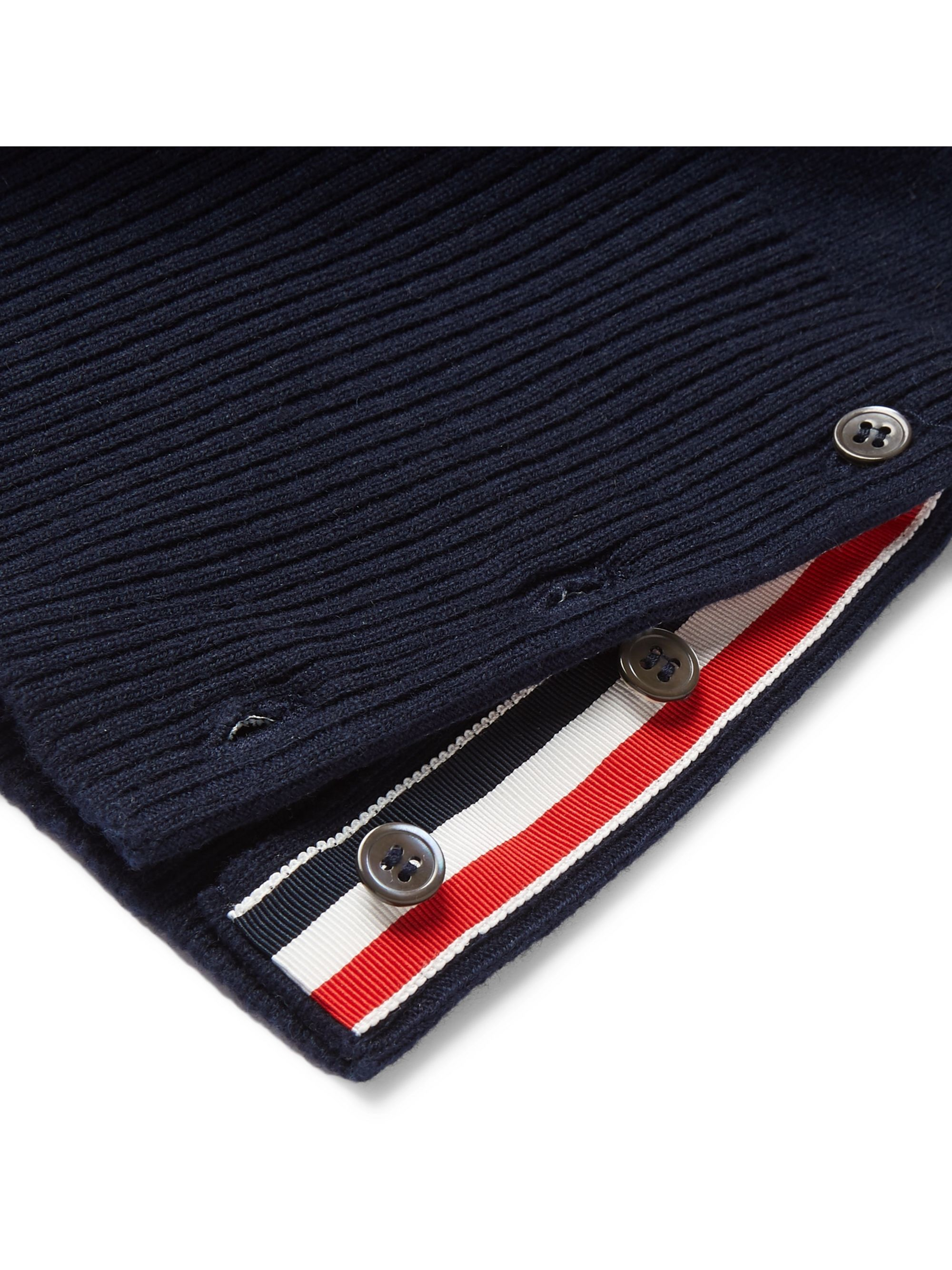 Slim Fit Striped Cashmere Sweater