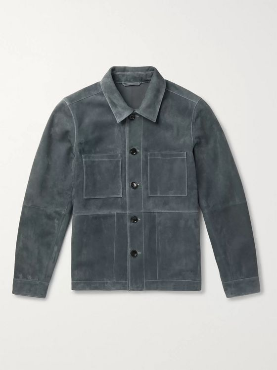 Mr P. Suede Utility Jacket