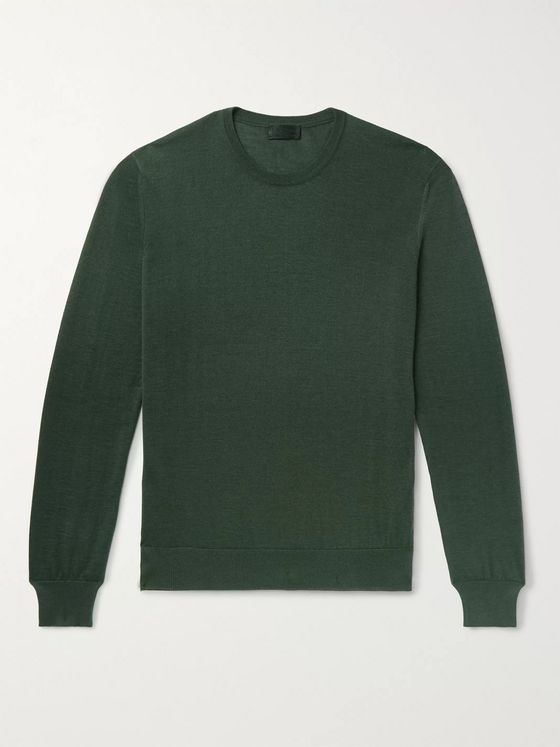 Charvet Cashmere and Silk-Blend Sweater