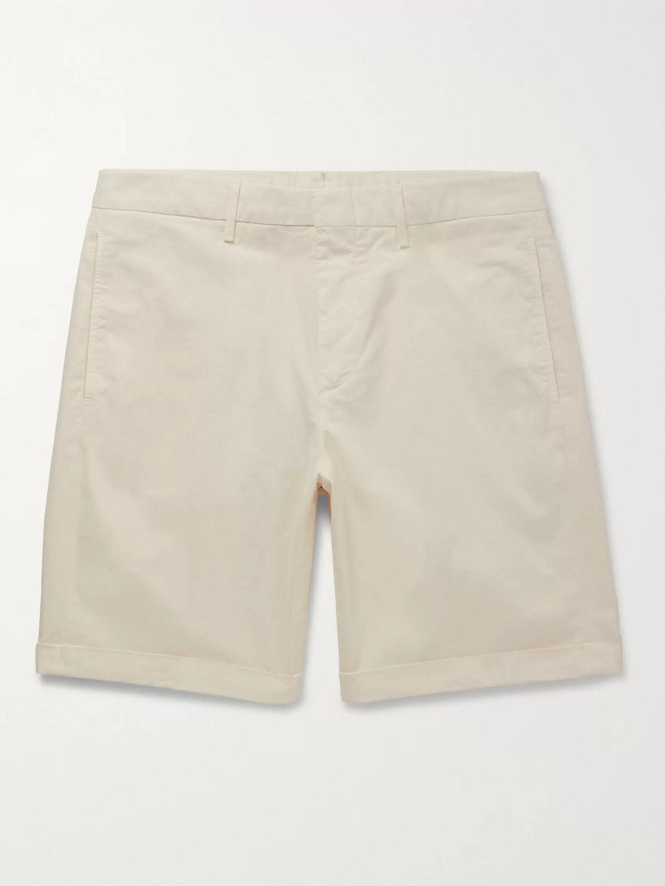 Dunhill Cotton-Blend Twill Bermuda Shorts