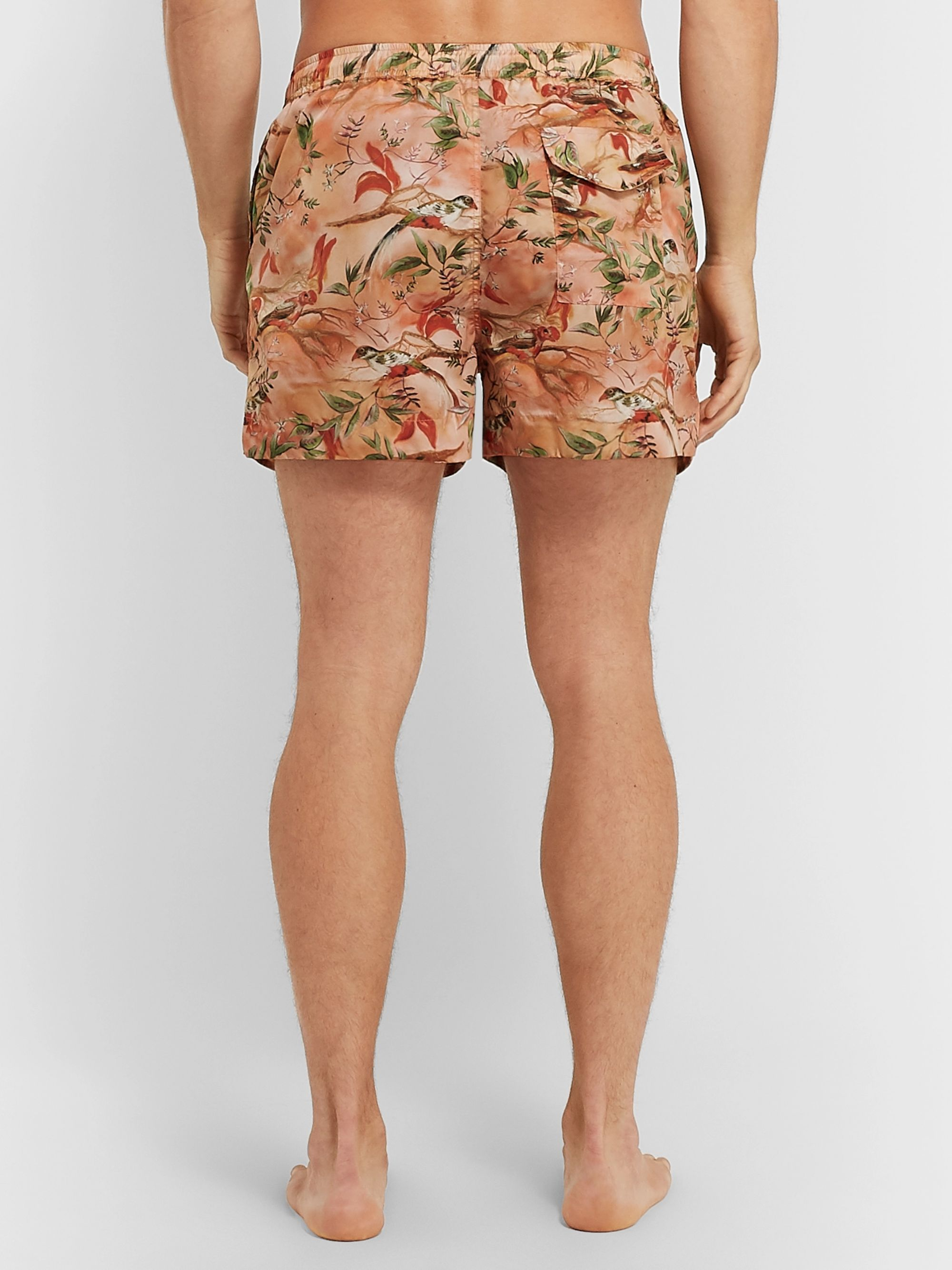 Dunhill Aquarium Printed Swim Shorts