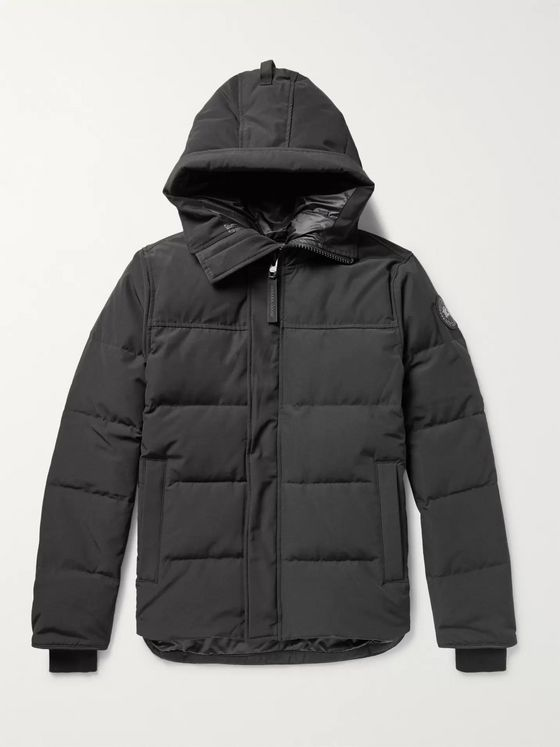 Canada Goose Black Label Macmillan Quilted Shell Hooded Down Parka
