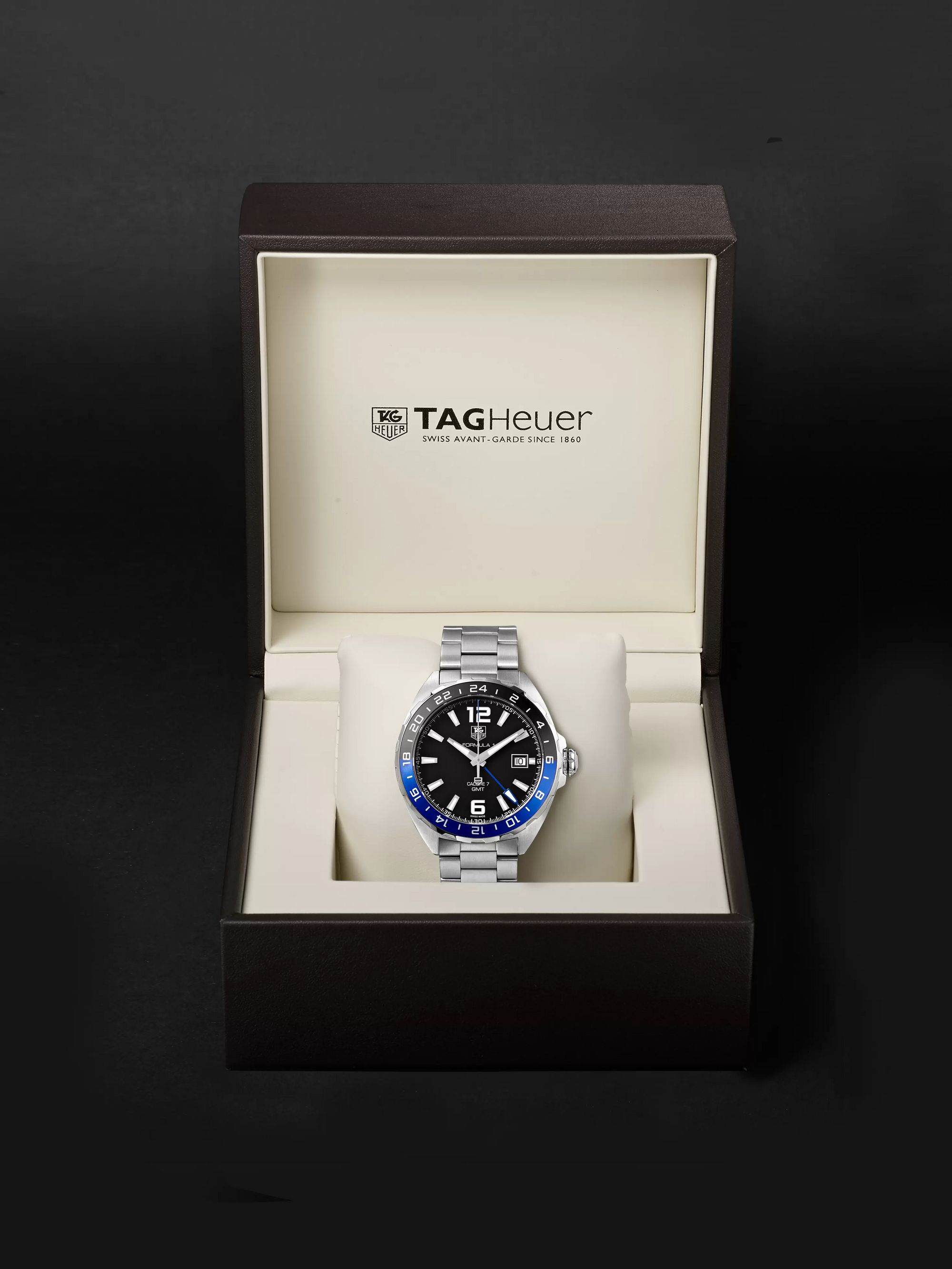 TAG Heuer Formula 1 GMT Automatic 41mm Stainless Steel Watch