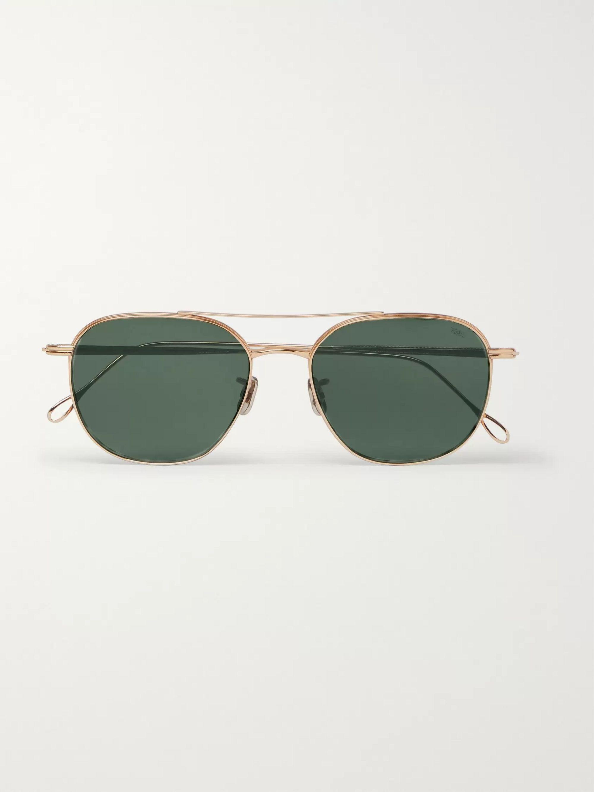 Sommerbrille Sonnenbrille im Gold Look Style neue Kollektion