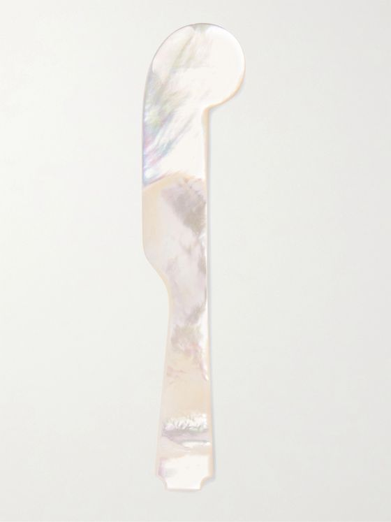 Lorenzi Milano Mother-of-Pearl Butter Knife