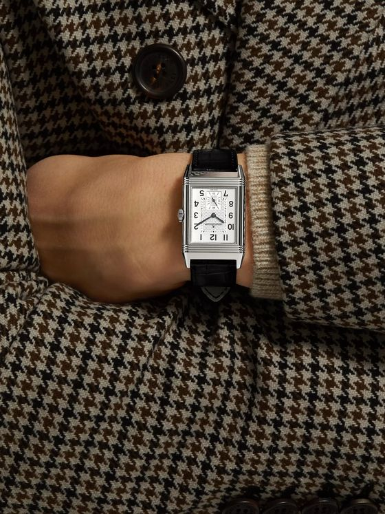 Jaeger-LeCoultre Reverso Classic Large Hand-Wound 27.4mm Stainless Steel and Alligator Watch