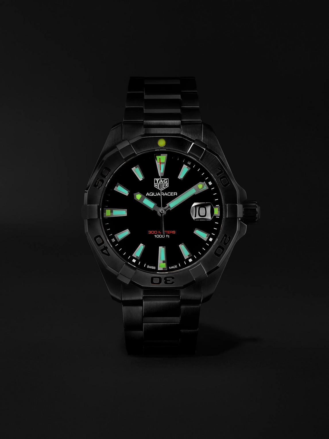 TAG HEUER Watches AQUARACER QUARTZ 41MM STEEL WATCH, REF. NO. WBD1112.BA0928
