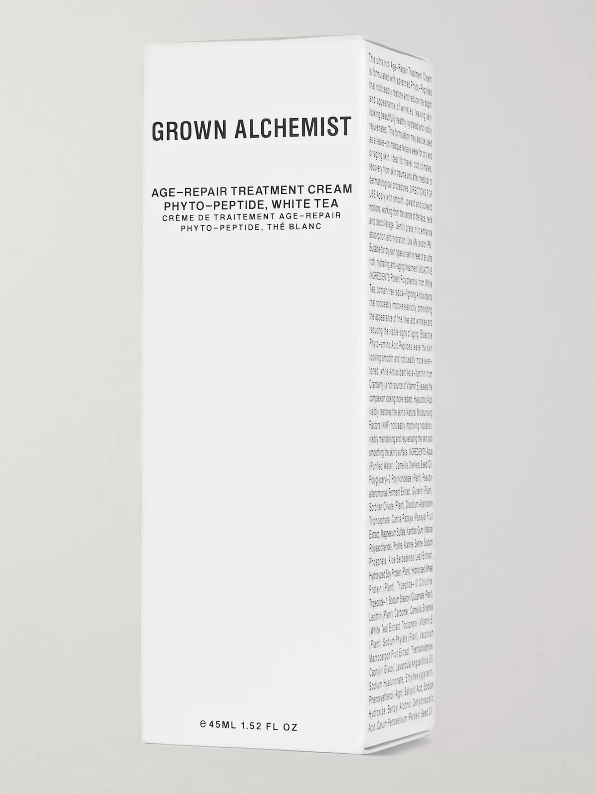 GROWN ALCHEMIST Age-Repair Treatment Cream - Phyto-Peptide & White Tea Extract, 45ml