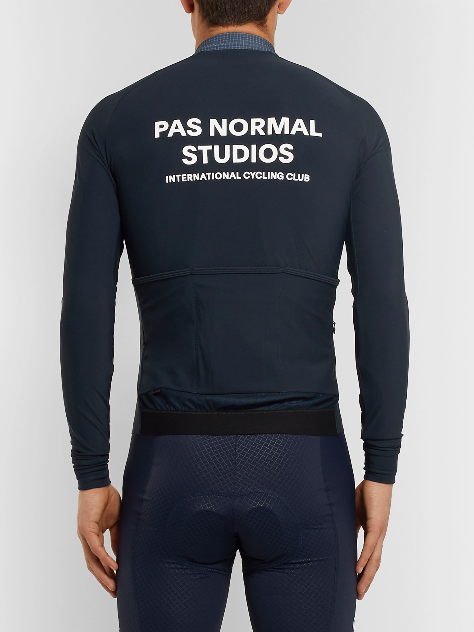 Pas Normal Studios Zip-Up Stretch Cycling Jersey