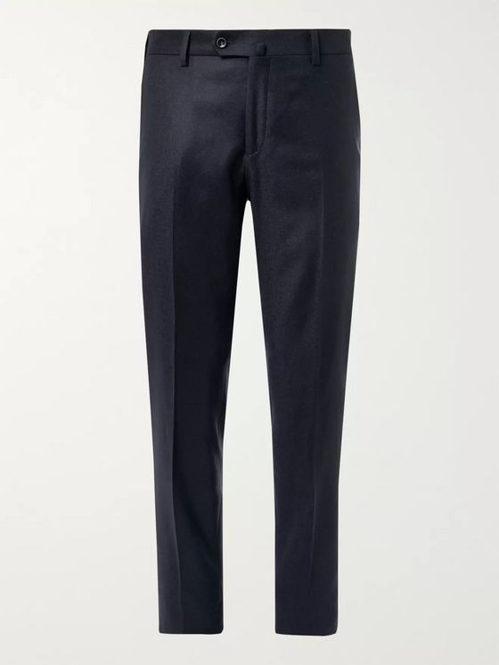 Loro Piana Slim-Fit Cashmere Trousers