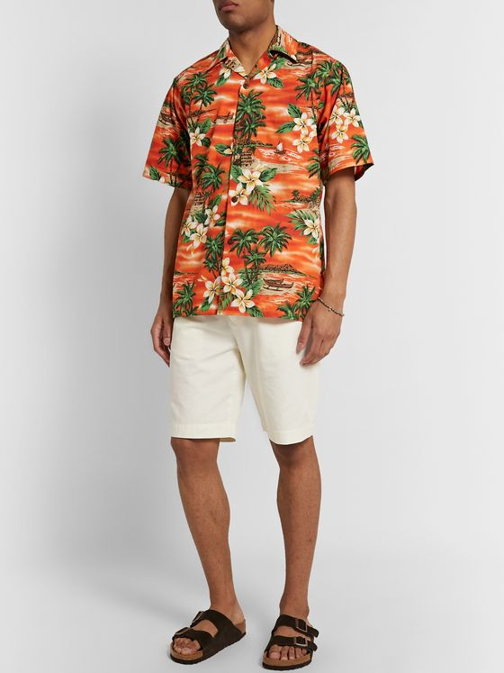 Go Barefoot Bora Bora Printed Cotton Shirt