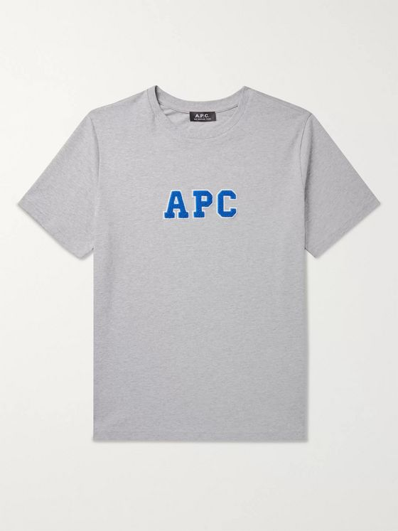 A.P.C. Gael Logo-Appliquéd Cotton-Jersey T-Shirt
