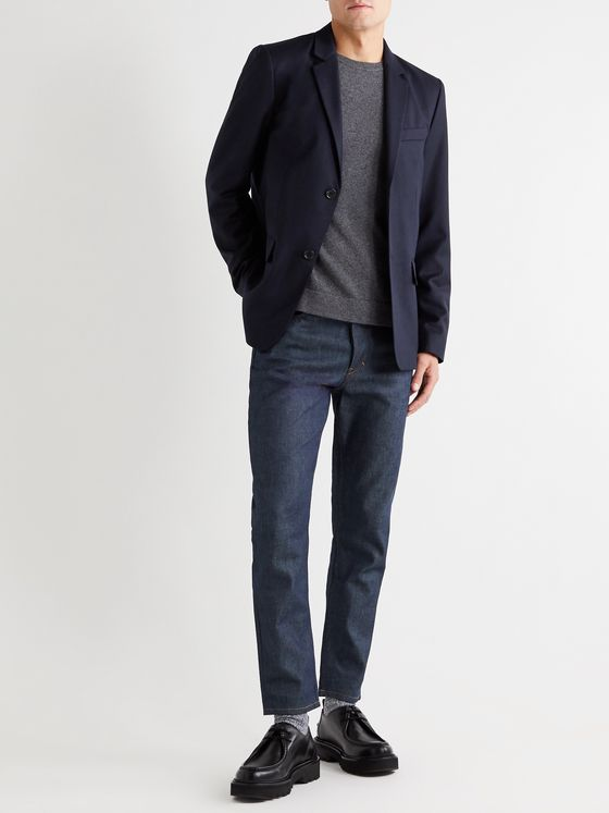 A.P.C. Spencer Virgin Wool-Flannel Suit Jacket