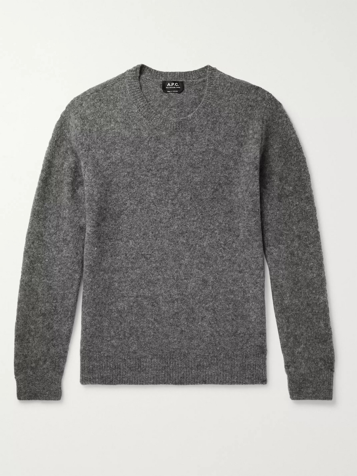 A.p.c. Wools DIEGO MÉLANGE WOOL-BLEND SWEATER