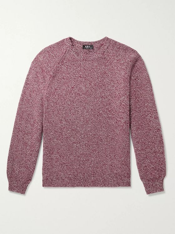 A.P.C. Pablo Mélange Wool Sweater