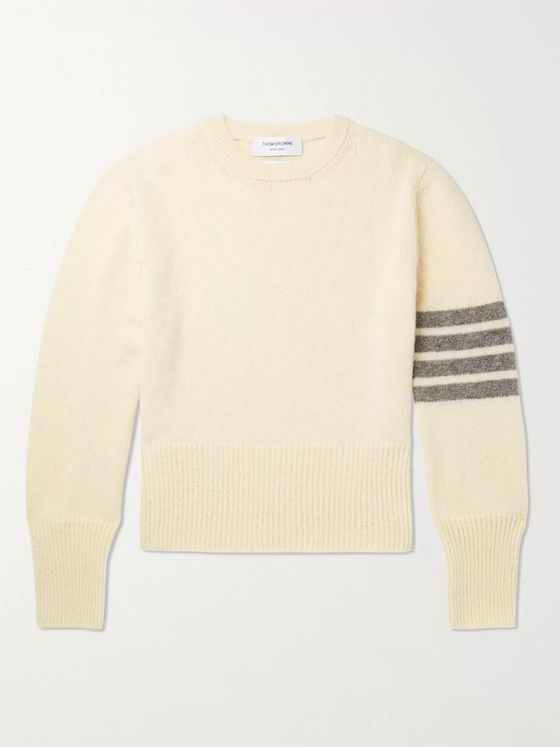 Thom Browne Striped Shetland Wool Sweater