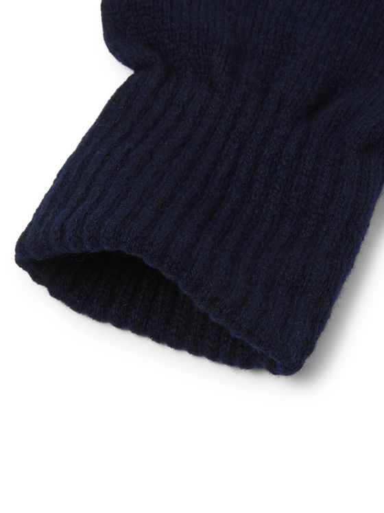 A.P.C. Merino Wool and Cashmere-Blend Gloves