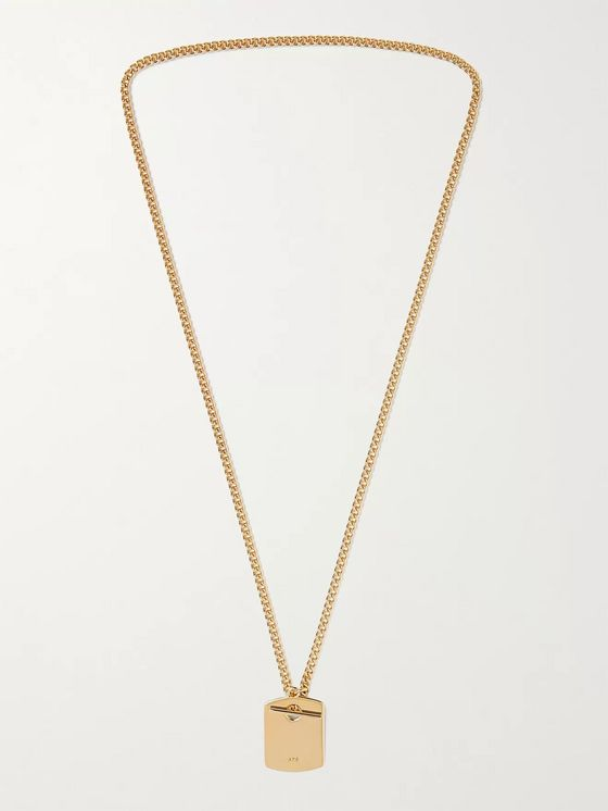 A.P.C. Louison Gold-Tone Chain Necklace