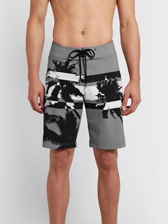 James Perse Y/OSEMITE Long-Length Printed Swim Shorts