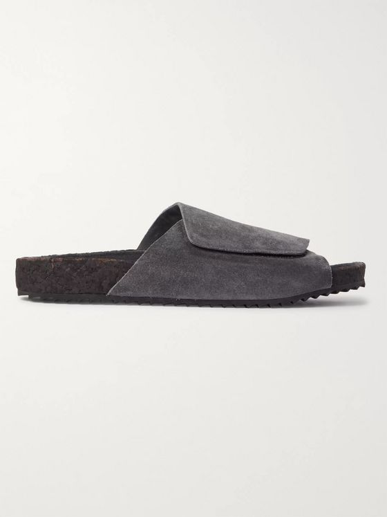 James Perse Suede Slides