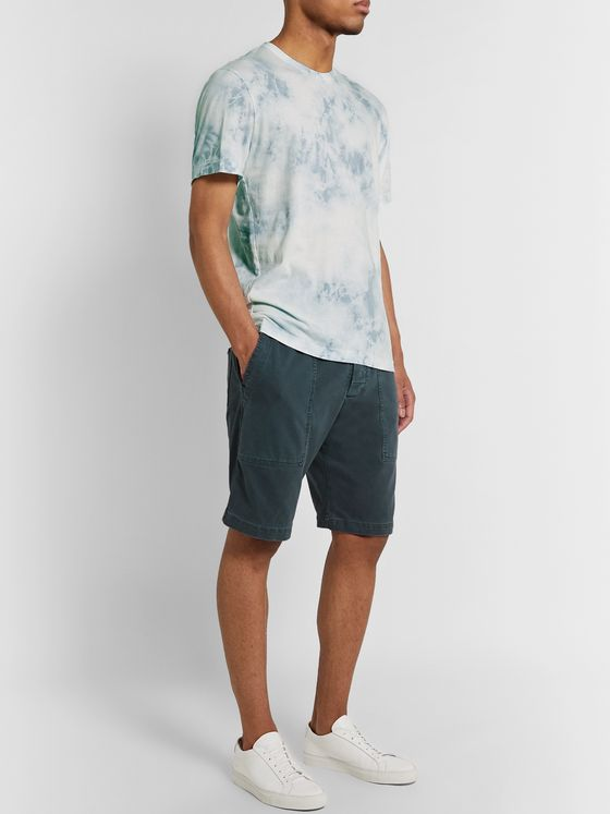 James Perse Cotton-Jersey Drawstring Shorts