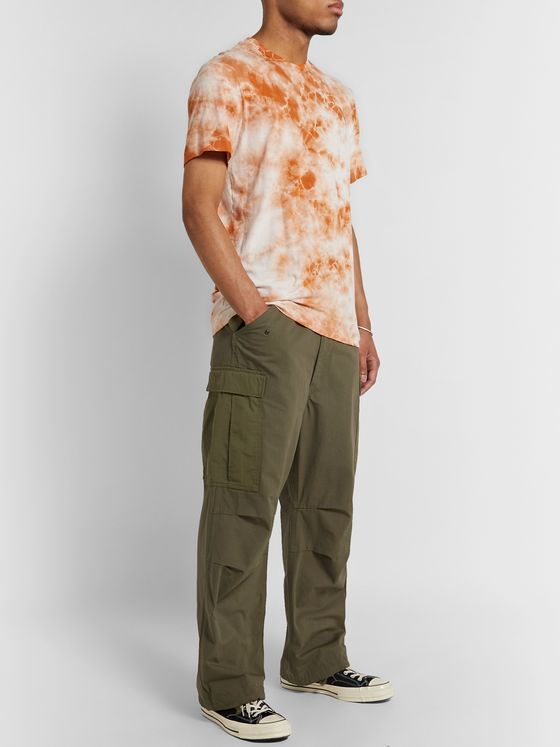 James Perse Tie-Dyed Combed Cotton-Jersey T-Shirt