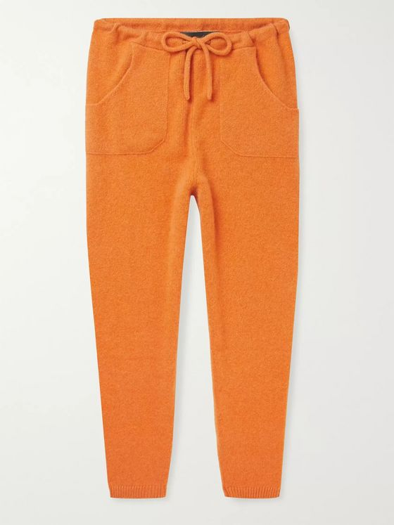 The Elder Statesman Cashmere Sweatpants