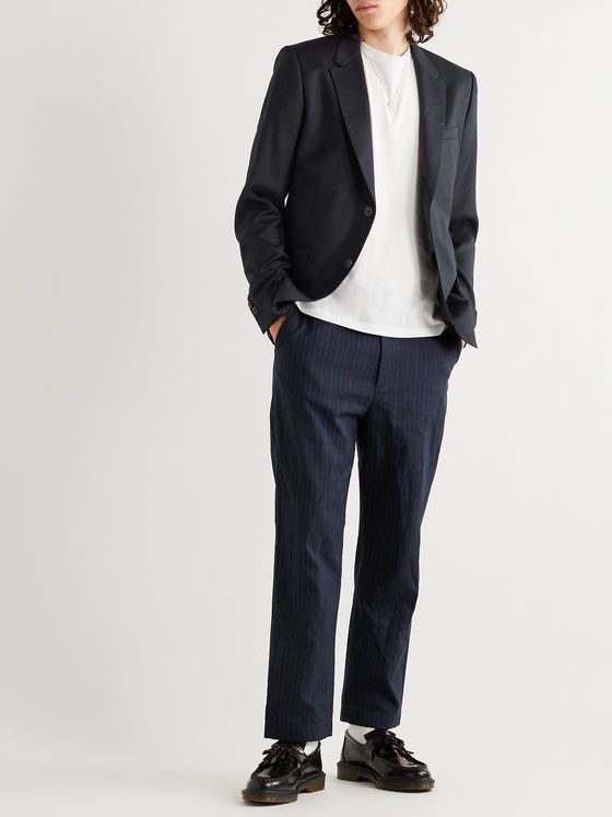 AMI Slim-Fit Virgin Wool Blazer