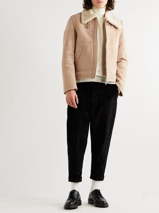 AMI Shearling Jacket