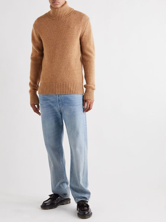 AMI Knitted Rollneck Sweater