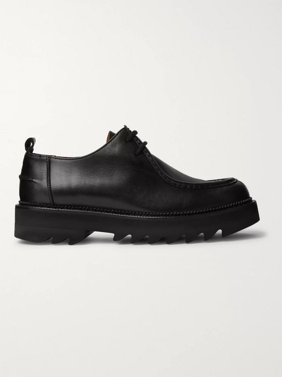 AMI Leather Derby Shoes