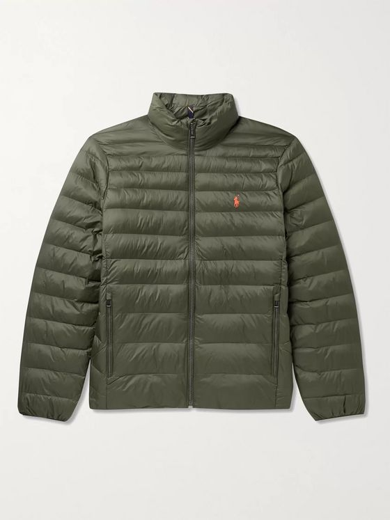 POLO RALPH LAUREN Quilted Recycled-Shell Jacket